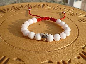 Náramky - shamballa náramok z Jadeitu - 10117332_