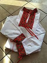Košele - Folkorna košeľa - 10115240_