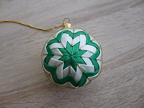 Dekorácie - Vianočná guľa - 10123957_