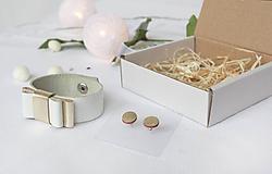 Sady šperkov - Kožený set - 10122702_