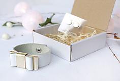 Sady šperkov - Kožený set - 10122704_