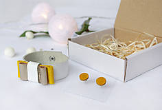 Sady šperkov - Kožený set - 10122759_