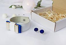 Sady šperkov - Kožený set - 10122816_