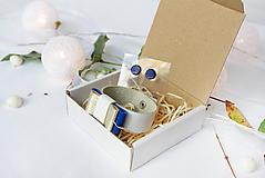 Sady šperkov - Kožený set - 10122817_