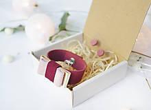 Sady šperkov - Kožený set - 10123005_