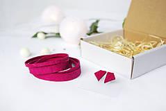 Sady šperkov - Kožený set - 10123394_