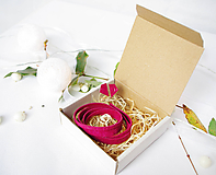 Sady šperkov - Kožený set - 10123395_