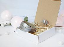 Sady šperkov - Kožený set - 10123448_