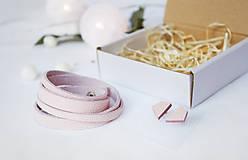 Sady šperkov - Kožený set - 10123491_