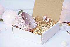 Sady šperkov - Kožený set - 10123492_