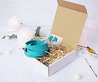 Sady šperkov - Kožený set - 10123499_