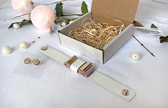 Sady šperkov - Kožený set - 10122649_