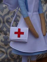 Bábiky - Anjelka - zdravotná sestrička - 10121116_