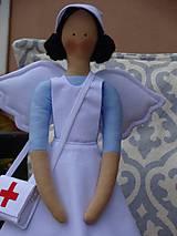 Bábiky - Anjelka - zdravotná sestrička - 10121117_