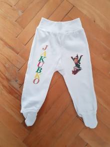 Detské oblečenie - Vianočné nohavice - 10121980_