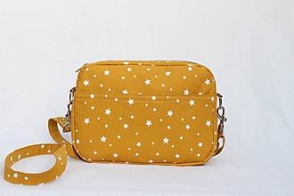Kabelky - Mini kabelka hviezdy - 10121865_