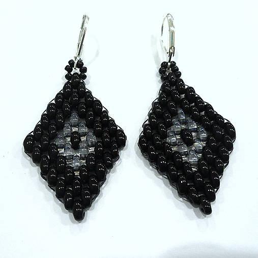 Bianka (čierna/krystal)