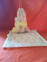 Úžitkový textil - Usmej sa na mňa: Sieťované ekovrecúška – súprava 2ks - 10122176_