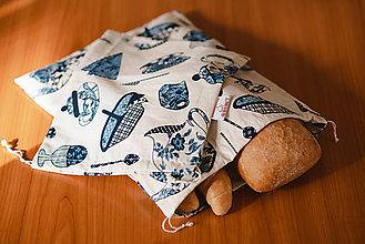 Úžitkový textil - Usmej sa na mňa: Sada bavlnených vrecúšok (Vidiek) - 10122091_