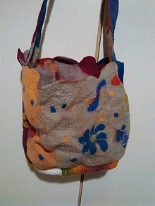 Iné tašky - Plstena kapsicka#7 - 10122940_