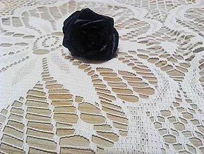 Dekorácie - čierna ruža - 10123984_