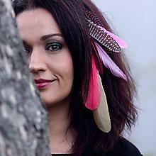 Ozdoby do vlasov - dlhý hair clip, clip do vlasov 30 cm - 10124324_