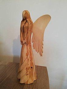 Socha - Drevený anjel - 10121982_