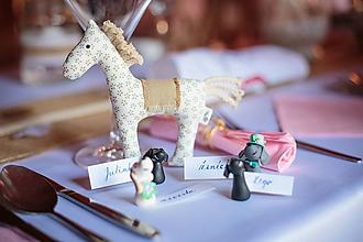 Darčeky pre svadobčanov - Psíkovia a mačičky - rôzne plemená - darčeky pre svadobčanov/menovky - 10122784_