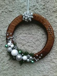 Dekorácie - Vianočný venček 4 - 10121369_