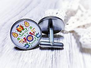 Šperky - Manžetové gombíky Marko - 10122451_