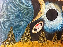 Obrazy - The moon - 10120599_