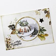 Papiernictvo - Vianočná pohľadnica - 10124076_