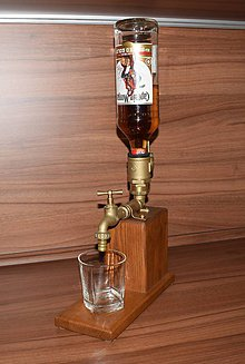 Doplnky - Drevená pípa na alkohol - LittleBrother Jaseň - 10121968_