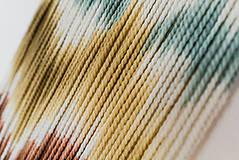 """Dekorácie - Nástenná dekorácia z dreva a vlny """"Horské masívy"""" - 10120294_"""