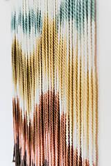 """Dekorácie - Nástenná dekorácia z dreva a vlny """"Horské masívy"""" - 10120311_"""