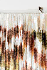 """Dekorácie - Nástenná dekorácia z dreva a vlny """"Karpatská žiara"""" - 10121040_"""