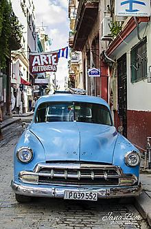 Fotografie - Modré auto - 10122174_