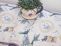 Úžitkový textil - ...štóla levanduľa... - 10121137_