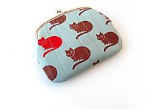 Peňaženky - Peňaženka XL Mačky - 10120202_