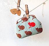 Peňaženky - Peňaženka XL Mačky - 10120203_