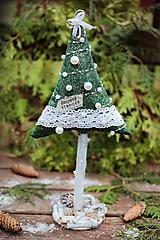 Dekorácie - Vianočný stromček veľký V. - 10121662_