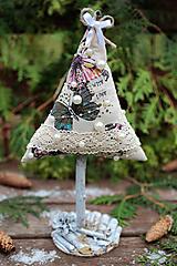 Dekorácie - Vianočný stromček veľký VIII. - 10121872_