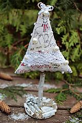 Dekorácie - Vianočný stromček veľký X. - 10122660_