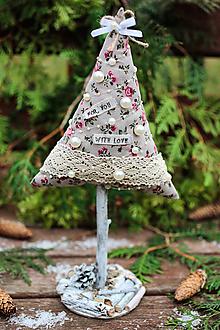Dekorácie - Vianočný stromček veľký VI. - 10121685_