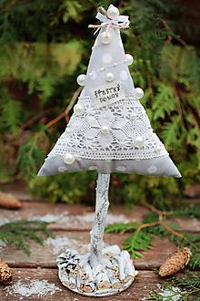 Dekorácie - Vianočný stromček veľký XI. - 10122796_