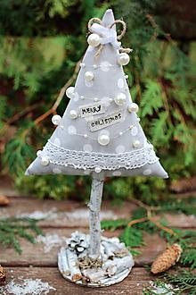 Dekorácie - Vianočný stromček veľký XII. - 10122838_