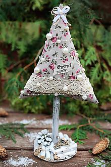 Dekorácie - Vianočný stromček veľký XIII. - 10122918_