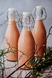 Obrazy - Do kuchynky: Farebné fľaštičky - 10121529_