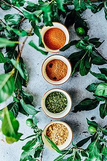 Obrazy - Do kuchynky: Farby korenia - 10121602_