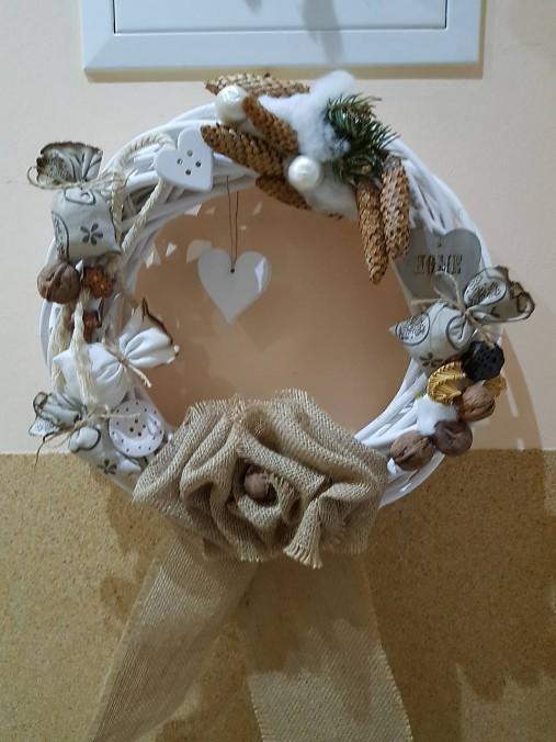fd0e9e92b Vianočné vence na dvere / hrky - SAShE.sk - Handmade Dekorácie